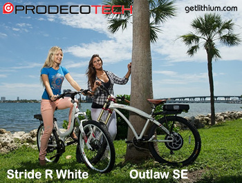 Click here for the Prodecotech electric assist bicycles main page...