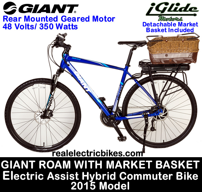 Electric assist comfort city bike, commuter bike, cruiser bike by Lithionics iGlide Electric Bicycles