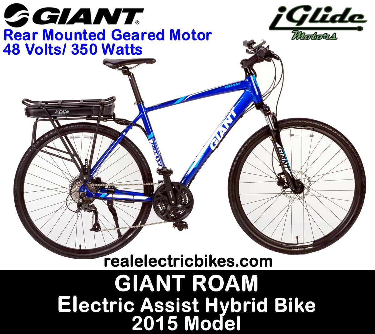 Giant Roam 2 SuperLite Size Large electric assist hybrid city bike ...