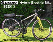 Lithionics iGlide/ Giant Bicycles electric assist bicycle - click for more information...