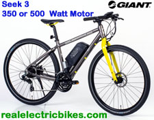 Giant Bicycles electric assist bicycle - click for more information...
