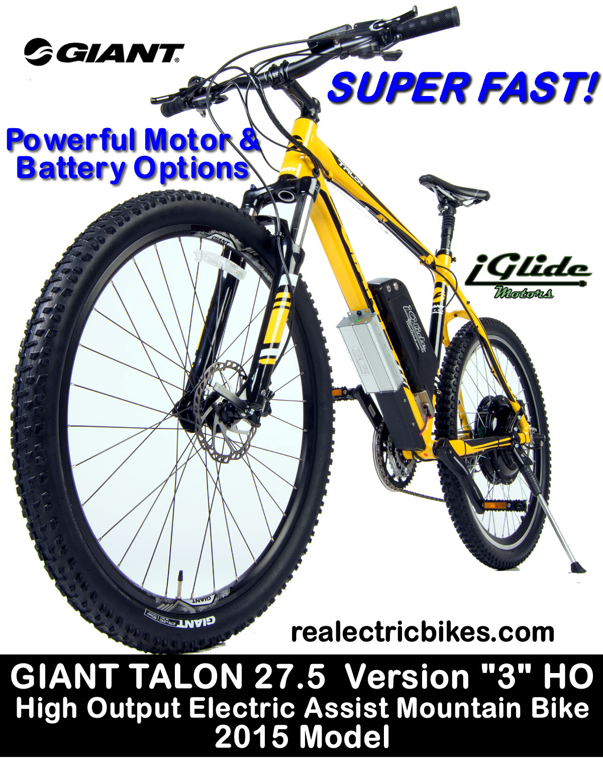 Giant Talon HIGH OUTPUT 27.5 Version 3, front suspension electric ...