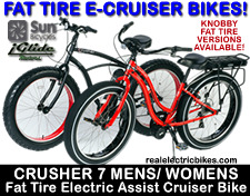 Click here for a larger image of the Mens and Womens Fat Tire Cruiser Bikes!