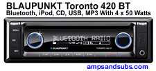 Blaupunkt multimedia CD head units, power amps, speakers, subwoofers and more...