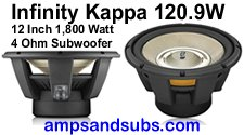 High power subwoofers, speaker systems and amplifiers by JBL, Infinity, Arc Audio, Blaupunkt and more...