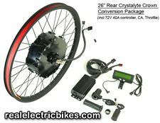 36 Volt & 48 Volt Electric Assist Bicycle Motor Conversion Kits for