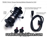 TDCM Torque Sensing Bottom Bracket, CA3 Compatible for ebikes