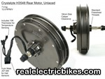 Click here for a larger e-bike motor conversion kit photo