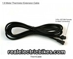 Thermistor extension cable for e-bikes