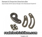 Torque Arm for e-bike hub motors
