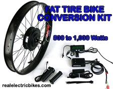 Click here to see details for this eZee FAT TIRE e-bike motor conversion kit and options...