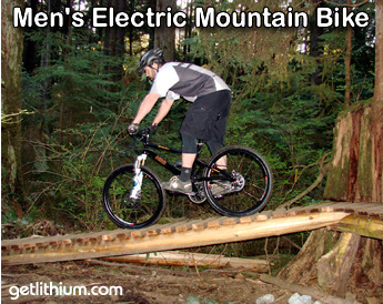 Giant electric assist mountain bike