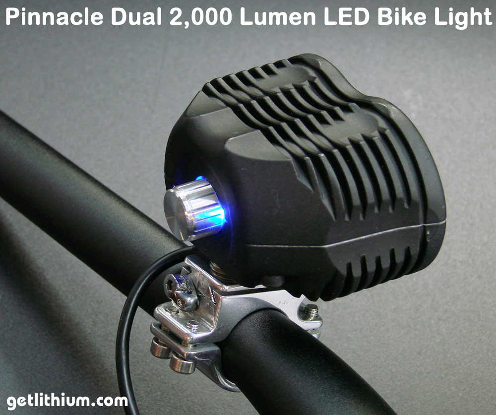 2000 Lumens Led E Bike Lights Amp Parts For Electric Assist