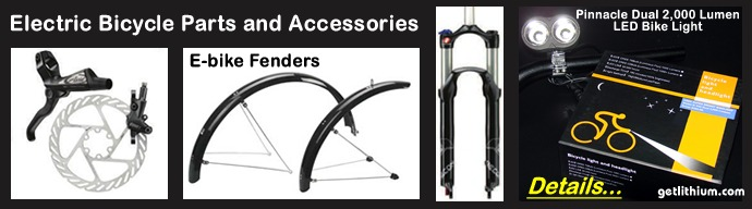 Click here to view the electric bicycle parts and accessories detail page...