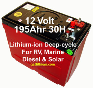 Click here to see the Lithionics lithium ion battery Master List...
